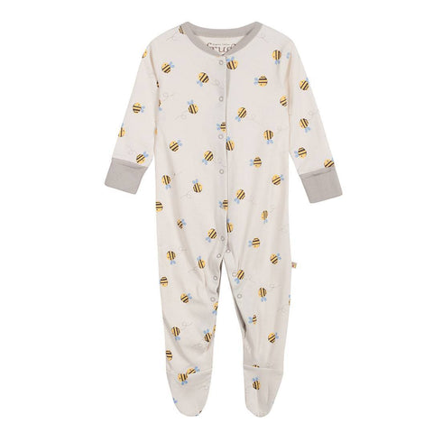 Frugi Babygrow - Buzzy Bee - Babygrows & Sleepsuits - Natural Baby Shower