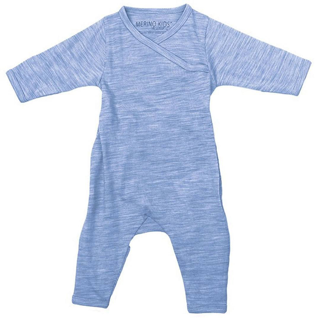 Babygrows & Sleepsuits - Merino Kids Cocooi All-in-One - Banbury