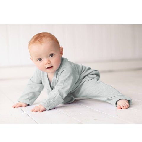 Merino Kids Essentials All-in-One - Turtle Dove - Babygrows & Sleepsuits - Natural Baby Shower
