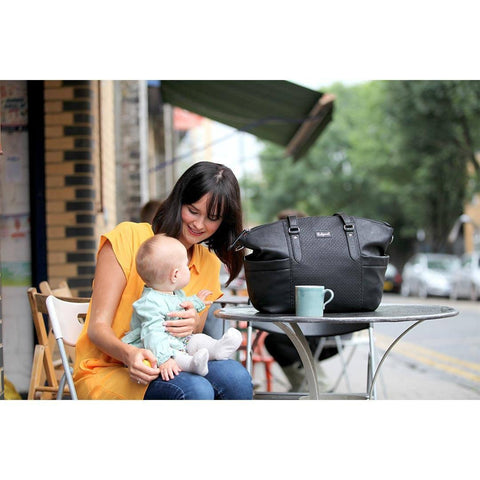Babymel Changing Bag - Anya - Black-Changing Bags- Natural Baby Shower