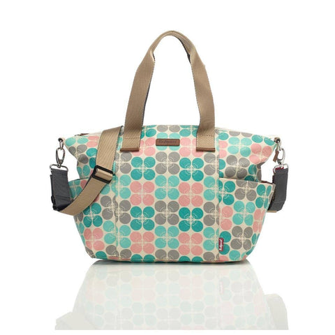 Babymel Changing Bag - Evie - Pastel Floral Dot