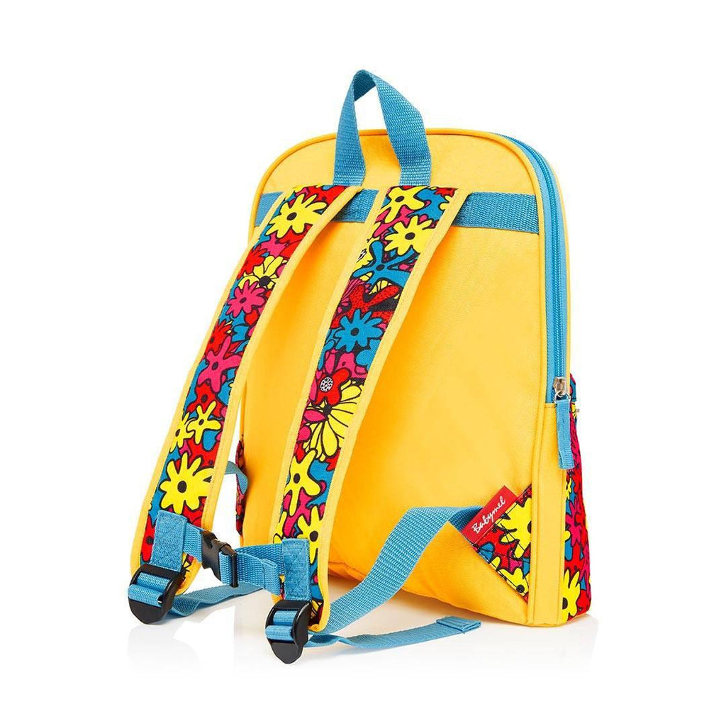 Babymel Kid's Backpack - Zip & Zoe - Floral Brights Straps