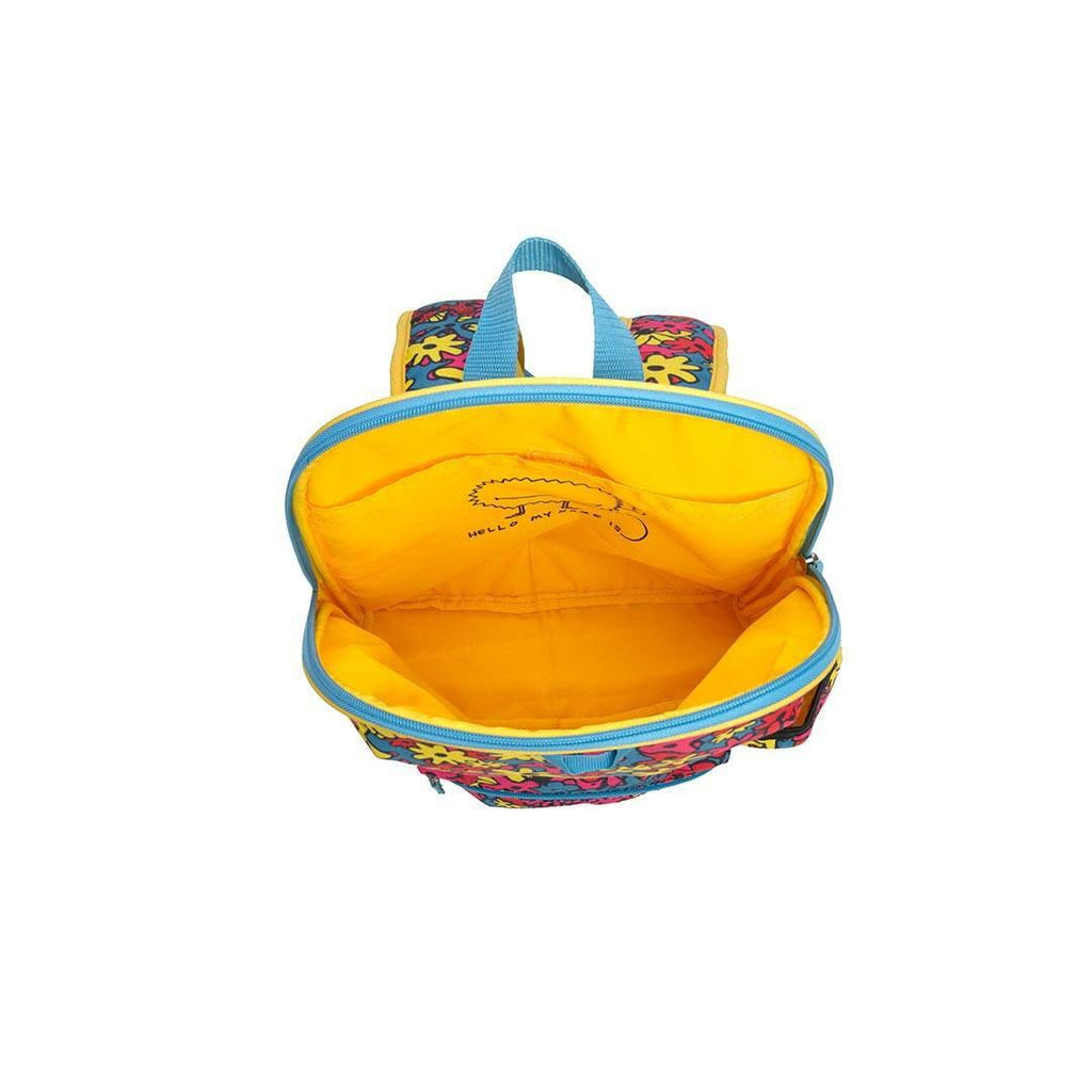 Babymel Kid's Backpack - Zip & Zoe - Floral Brights Empty