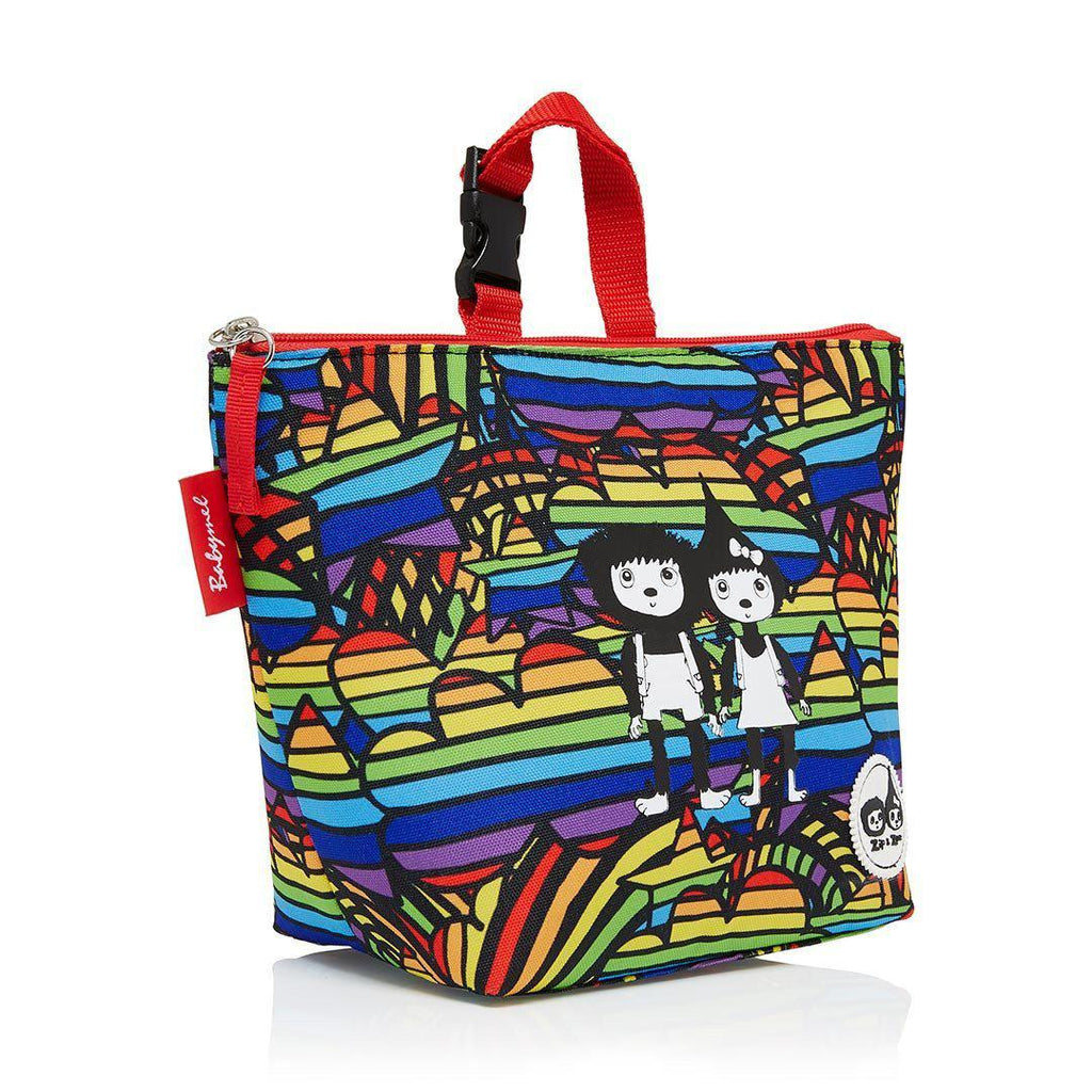 Babymel Insulated Lunch Bag - Zip & Zoe - Rainbow Multi