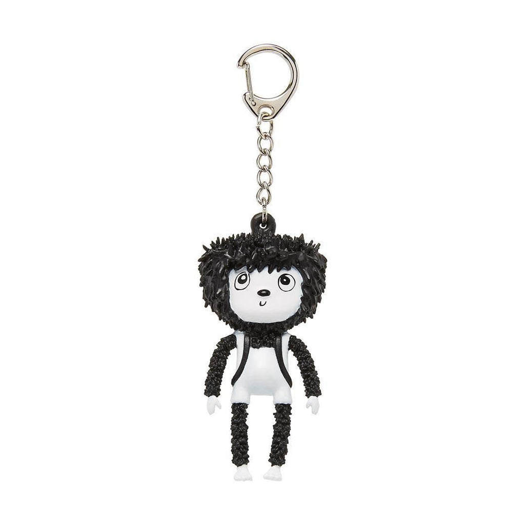 Babymel Kid's Backpack - Zip & Zoe - Navy Colour Block Zip Keychain
