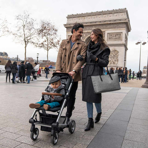 babymoov Champs-Elysees Changing Bag - Smokey-Changing Bags- Natural Baby Shower