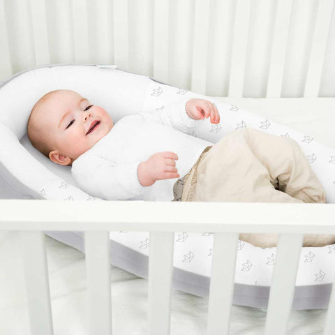 babymoov Doomoo Cocoon - Grey-Baby Nests- Natural Baby Shower