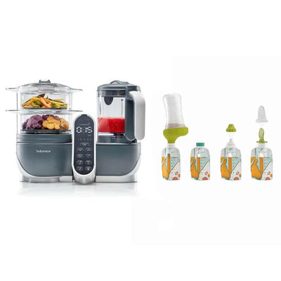 babymoov Nutribaby (+) + Foodii Starter Kit-Food Processors-Default- Natural Baby Shower