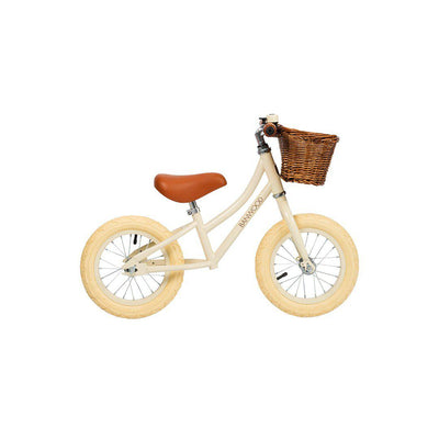 Banwood Balance Bike First Go - Girl - Cream-Bikes & Scooters- Natural Baby Shower
