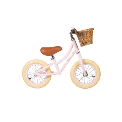 Banwood Balance Bike First Go - Girl - Pink-Bikes & Scooters- Natural Baby Shower