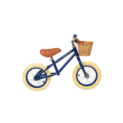 Banwood Balance Bike First Go - Navy Blue-Bikes & Scooters- Natural Baby Shower