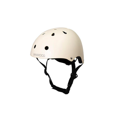 Banwood Helmet - Cream-Helmets- Natural Baby Shower