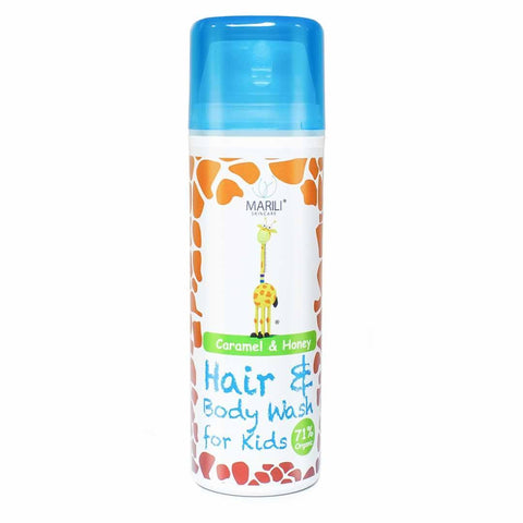 Bath & Wash - Marili Kids Hair & Body Wash - Caramel And Honey