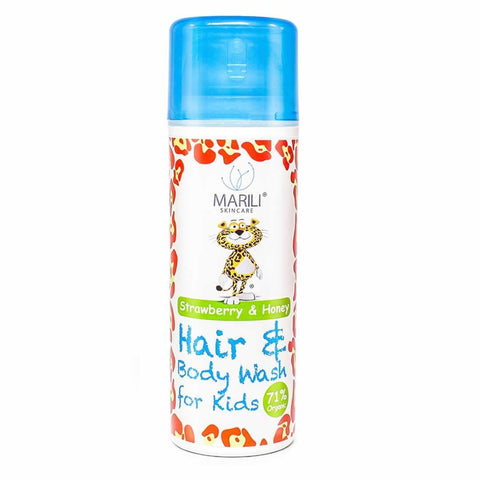 Bath & Wash - Marili Kids Hair & Body Wash - Strawberry And Honey