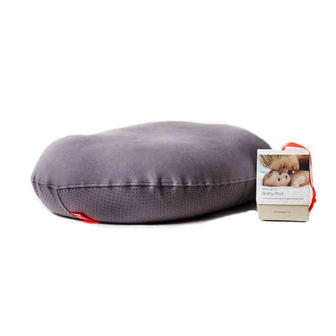 bbhugme Baby Pod - Stone-Maternity Cushions-Stone- Natural Baby Shower