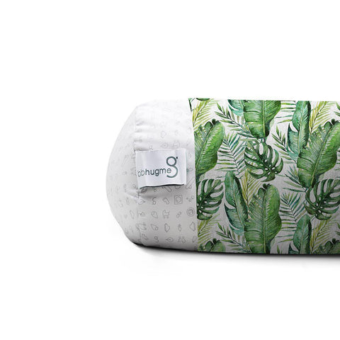 bbhugme Pregnancy Sleeve - Green Leaf-Pregnancy Pillows-Green Leaf- Natural Baby Shower