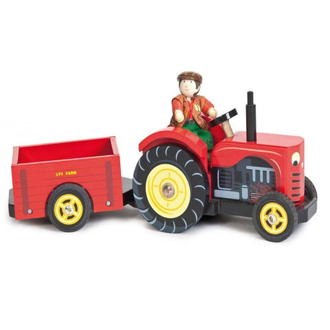 Le Toy Van - Bertie's Tractor - Play Sets - Natural Baby Shower
