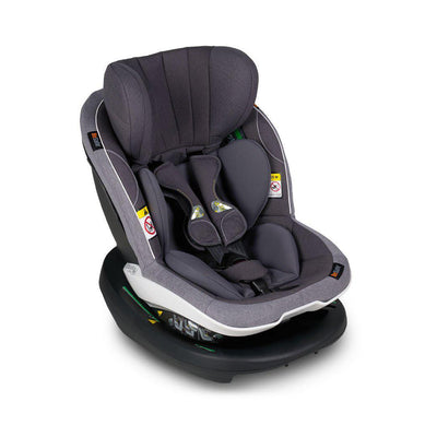 BeSafe iZi Modular A X1 i-Size Car Seat - Metallic Melange-Car Seats- Natural Baby Shower