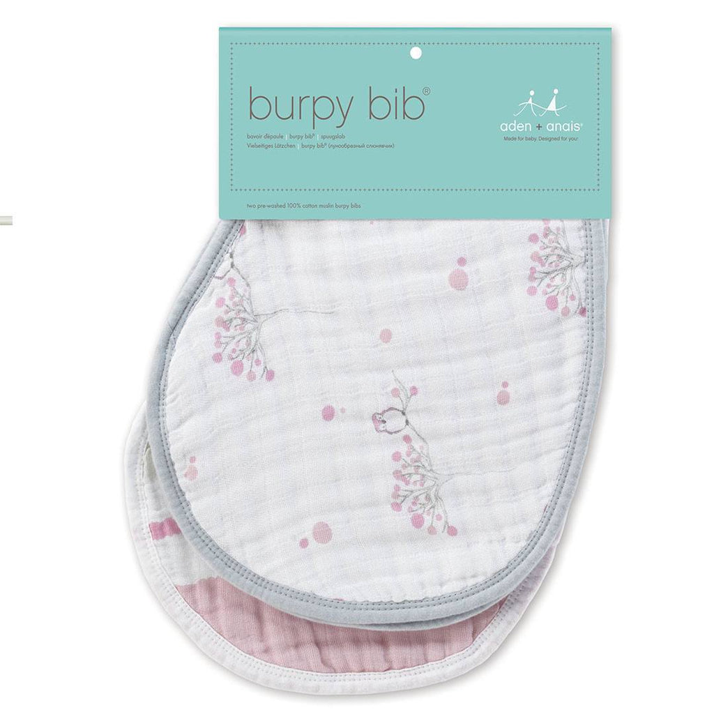 Bibs - Aden & Anais Burpy Bibs - For The Birds - 2 Pack