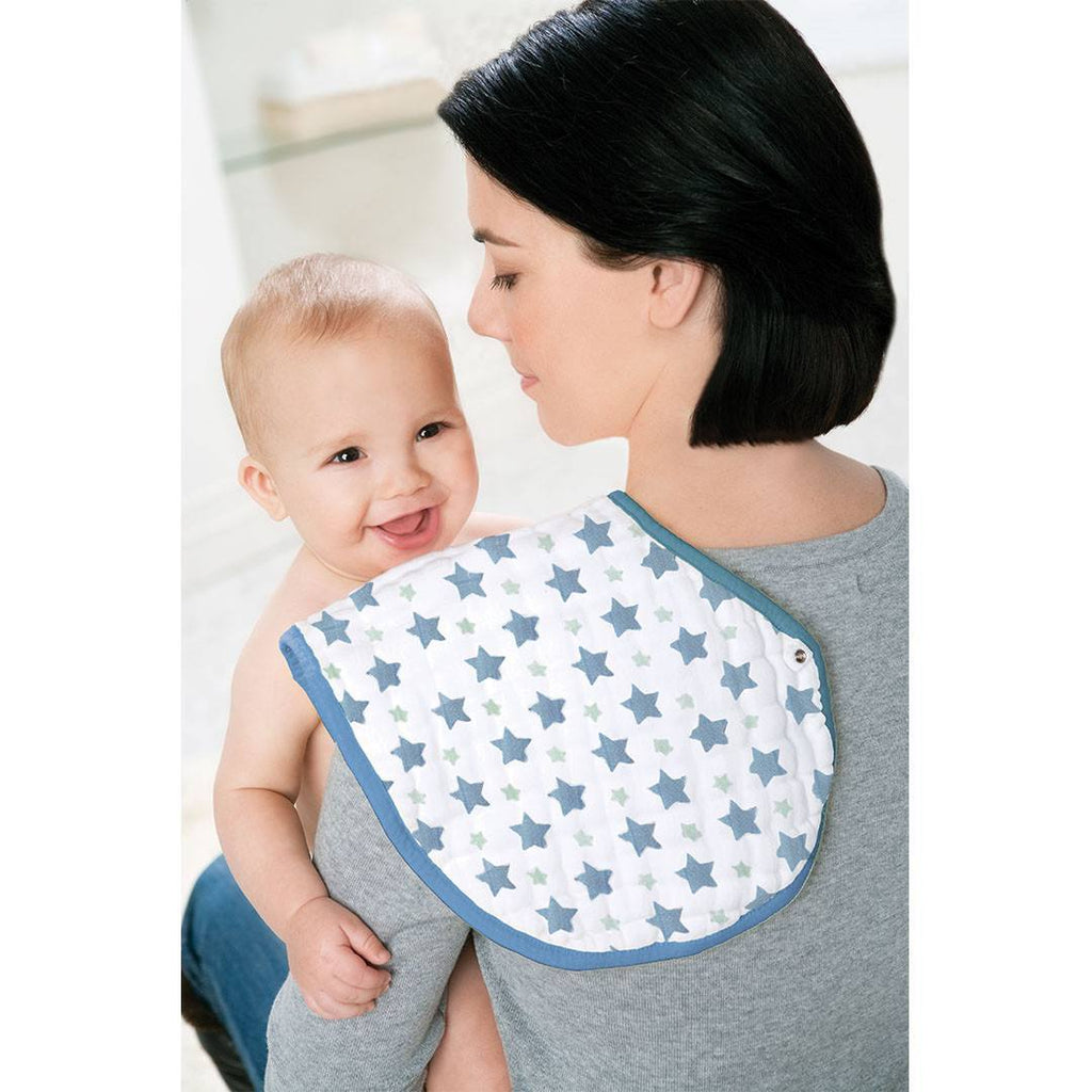 aden + anais Burpy Bibs - Prince Charming - 2 Pack - Bibs - Natural Baby Shower