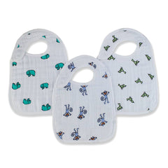 Bibs - Aden & Anais Snap Bibs - Jungle Jam - 3 Pack
