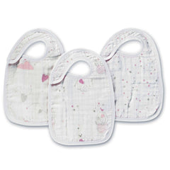 Bibs - Aden & Anais Snap Bibs - Lovely - 3 Pack
