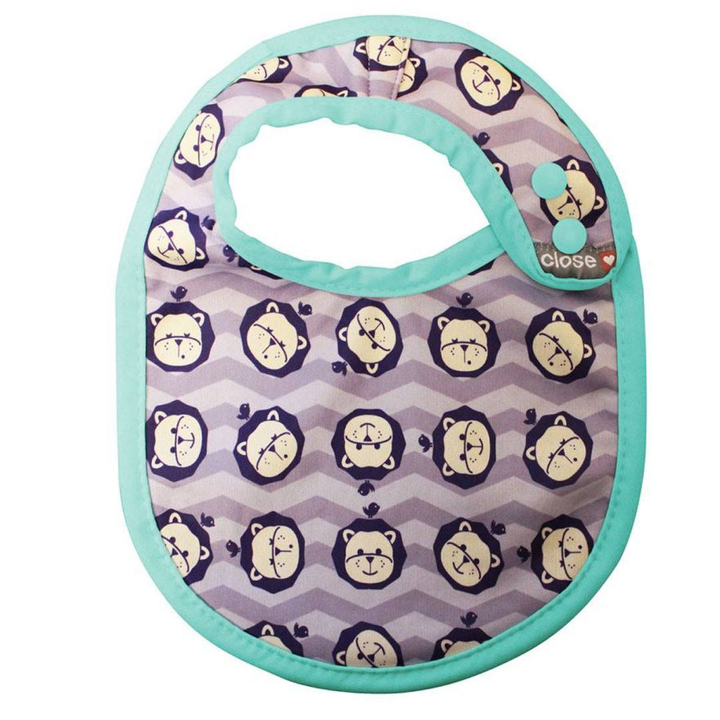 Bibs - Close Pop-in Bib (Stage 1) - Lion