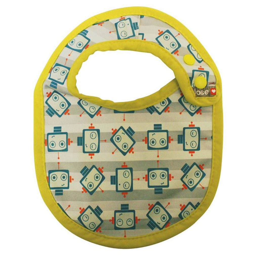 Bibs - Close Pop-in Bib (Stage 1) - Robot