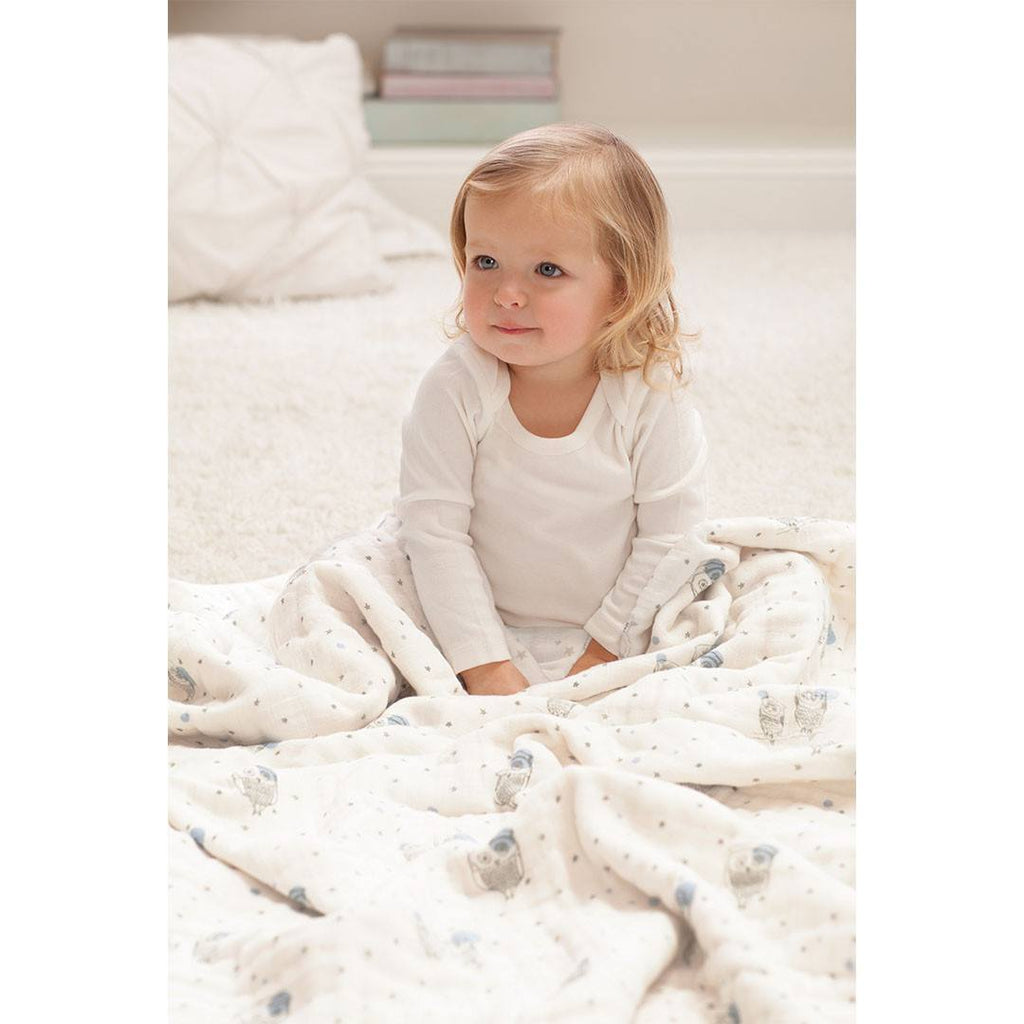 aden + anais Muslin Dream Blanket - Night Sky - Blankets - Natural Baby Shower