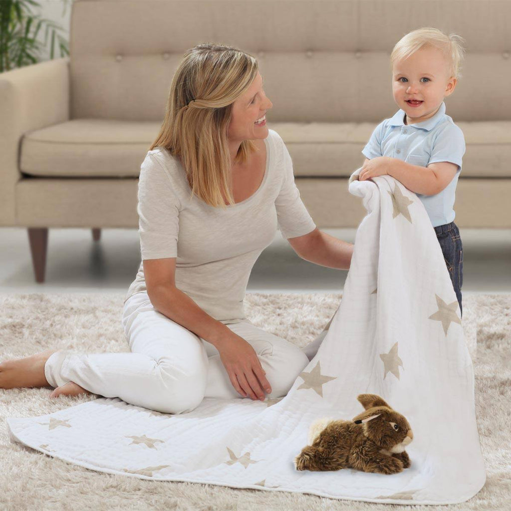 Blankets - Aden & Anais Muslin Dream Blanket - Super Star Scout