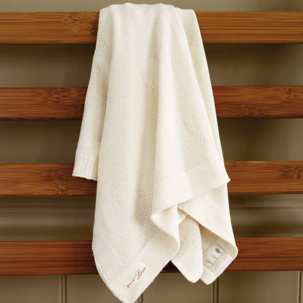 Natures Purest Bamboo Blanket Pure Love Natural Baby