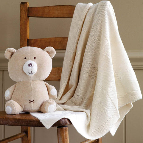 Natures Purest Bamboo Blanket Stroller - Hug Me - Blankets - Natural Baby Shower