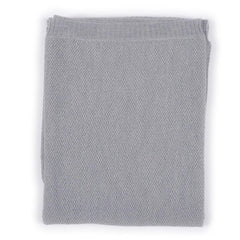 Blankets - Nui Organics Merino Bubble Blanket - Knits - Silver