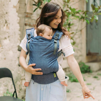 Boba X Carrier - Chambray-Baby Carriers-Default- Natural Baby Shower