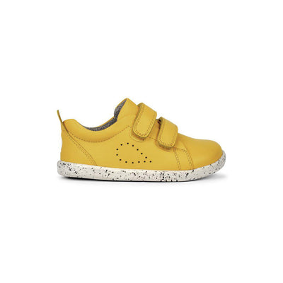 Bobux I-Walk Grass Court Trainers - Lemon-Shoes- Natural Baby Shower