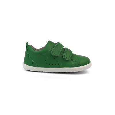Bobux Step-Up Grass Court Trainers - Emerald-Shoes- Natural Baby Shower