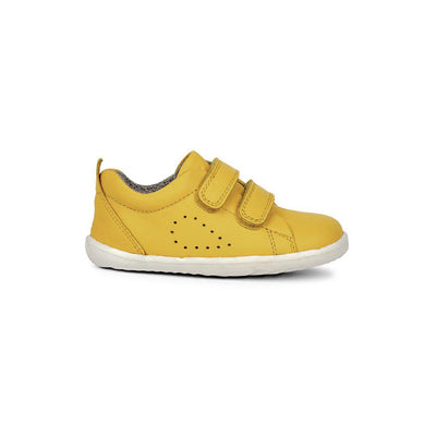 Bobux Step-Up Grass Court Trainers - Lemon-Shoes- Natural Baby Shower