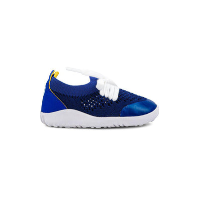 Bobux Step-Up Play Knit Trainers - Blueberry + Yellow-Shoes- Natural Baby Shower