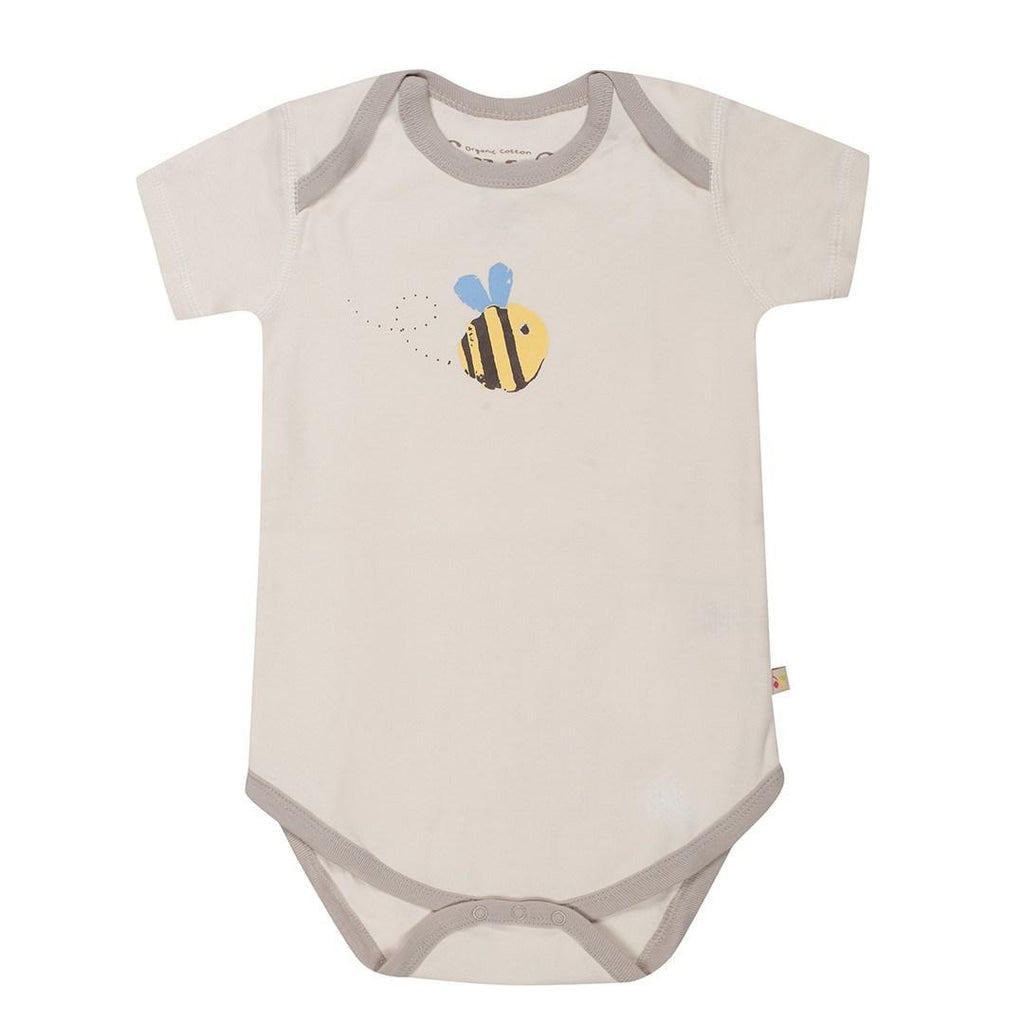Bodies & Vests - Frugi Body - Buzzy Bee