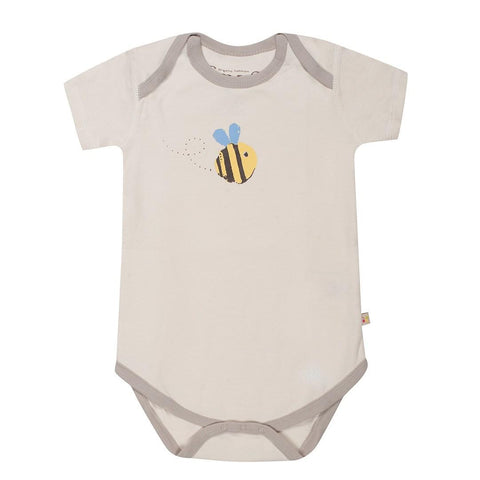 Frugi Body - Buzzy Bee - Bodies & Vests - Natural Baby Shower