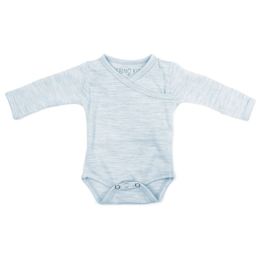 Merino Kids Cocooi Bodysuit - Turtle Dove-Bodysuits- Natural Baby Shower