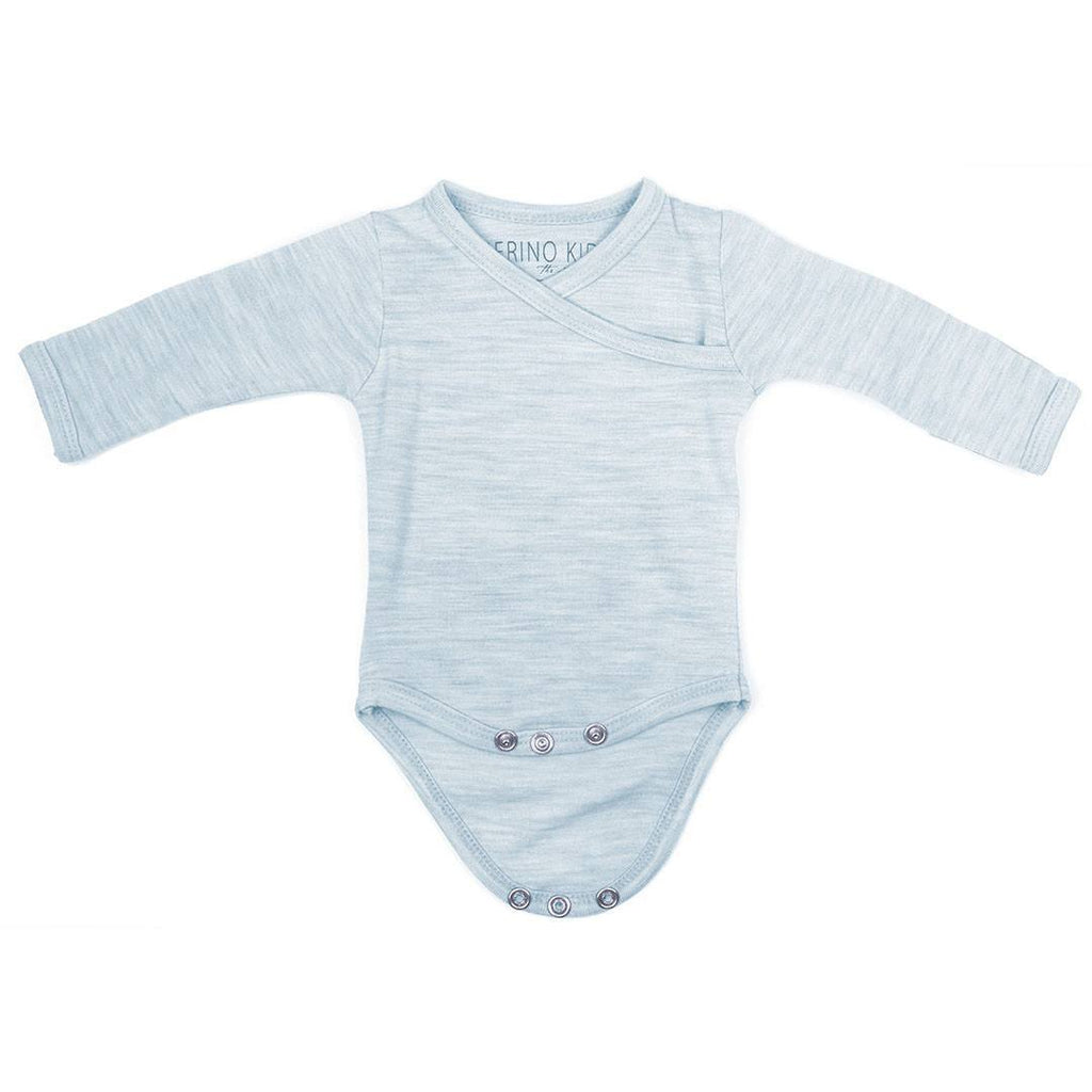 Bodies & Vests - Merino Kids Cocooi Bodysuit - Turtle Dove