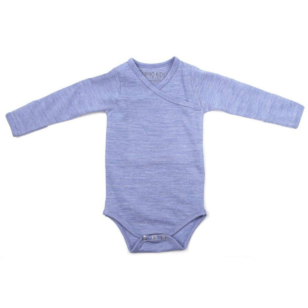 Bodies & Vests - Merino Kids Essentials Bodysuit - Banbury