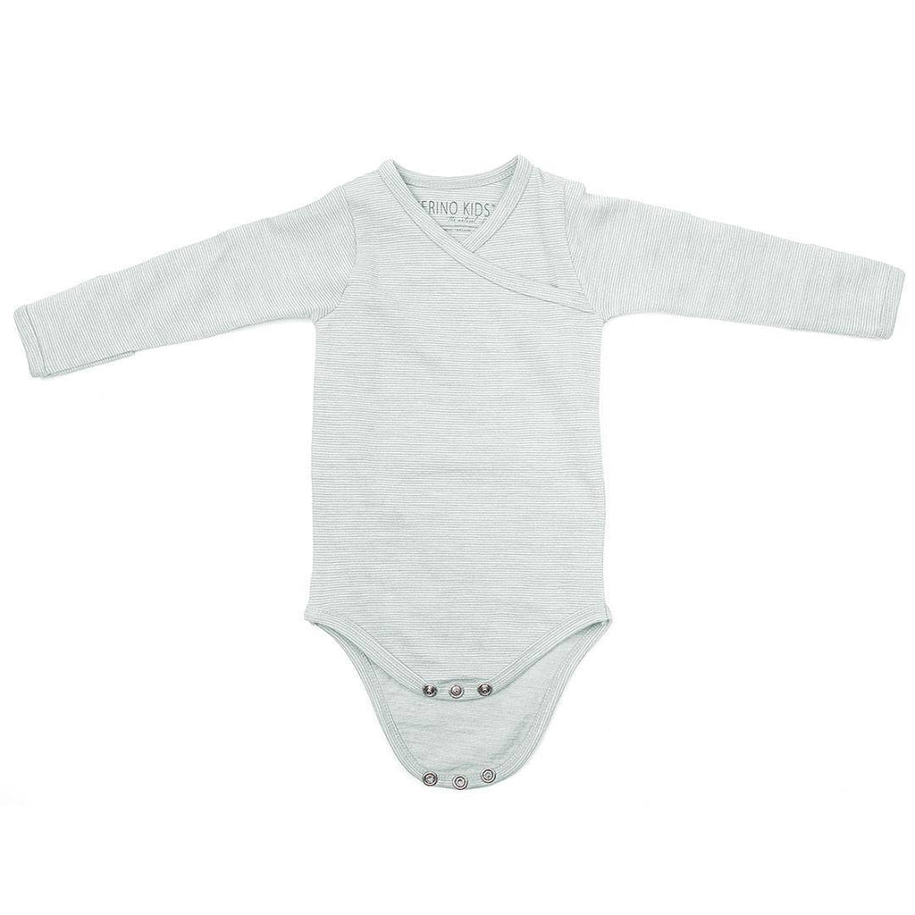 Bodies & Vests - Merino Kids Essentials Bodysuit - Turtle Dove