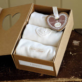 Bodies & Vests - Natures Purest Bodysuit Gift Box Set - Pure Love - 3 Pack