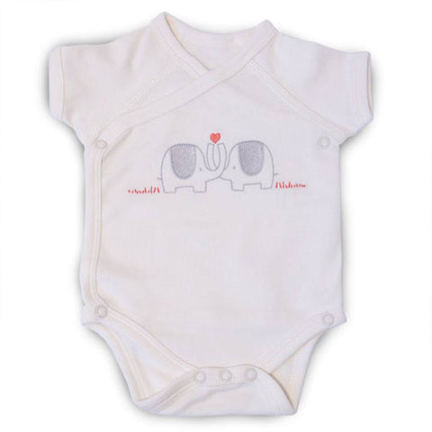 Natures Purest Wrap Bodysuit - My First Friend - Bodies & Vests - Natural Baby Shower