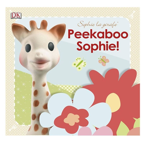 Sophie la Giraffe Book - Peekaboo Sophie! - Books - Natural Baby Shower