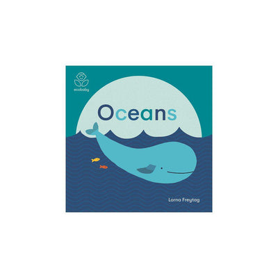 "Bookspeed Eco Baby: ""Oceans"" Book by Lorna Freytag-Books- Natural Baby Shower"