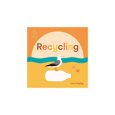 "Bookspeed Eco Baby: ""Recycling"" Book by Lorna Freytag-Books- Natural Baby Shower"