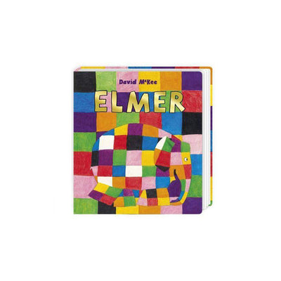 "Bookspeed ""Elmer"" by David McKee-Books- Natural Baby Shower"